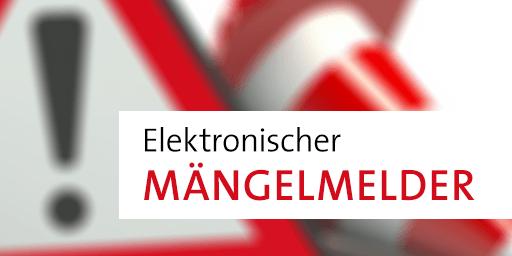 Elektronische Mängelkarte