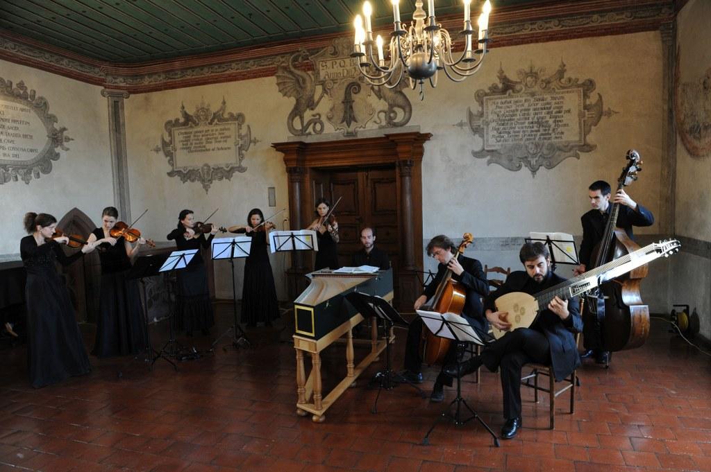 Das La Cetra Barockorchester Basel (Foto © Marco Borggreve)