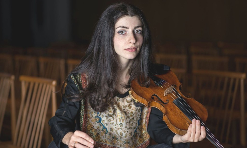 Kunstförderpreisträgerin Lilit Tonoyan, Foto: Pierre Hansen.