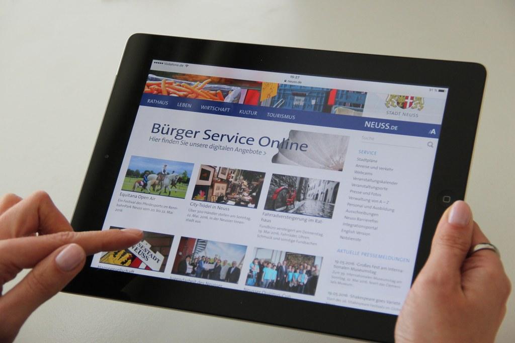 Online-Check: Gute Noten für städtische Homepage