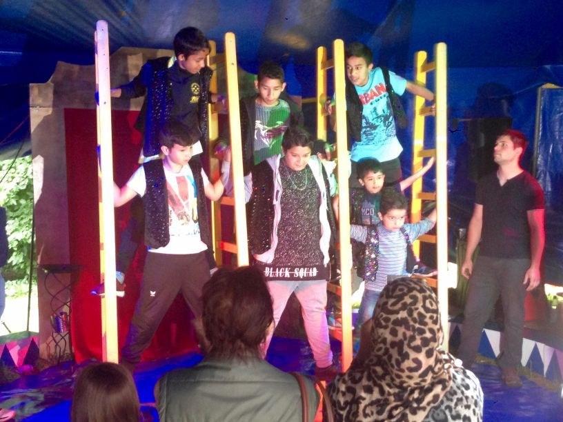 """Impressionen vom """"Cirque du Neuss"""", Foto: Ulrike Pütter."""
