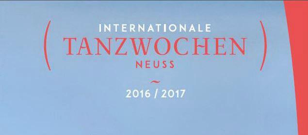 Internationale Tanzwochen 2016/2017