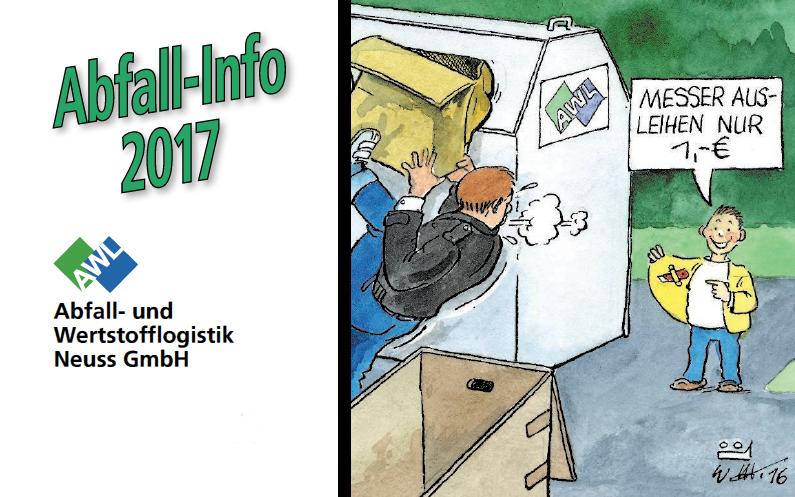 Abfall-Info 2017 wird verteilt