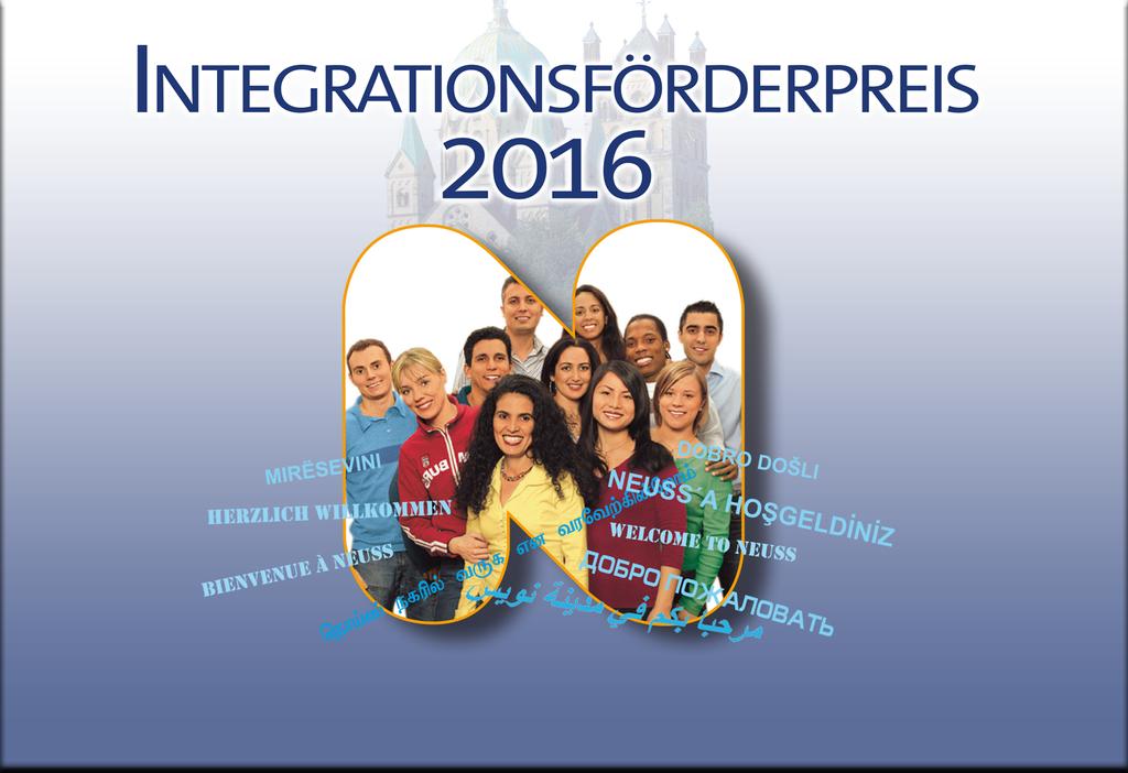 Integrationsförderpreis 2016