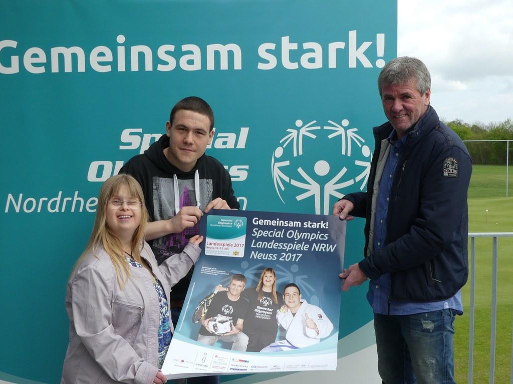 Friedhelm Funkel für Special Olympics NRW