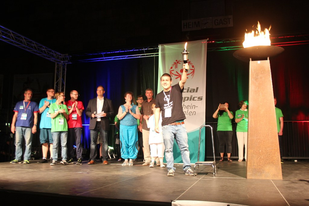 Special Olympics eröffnet