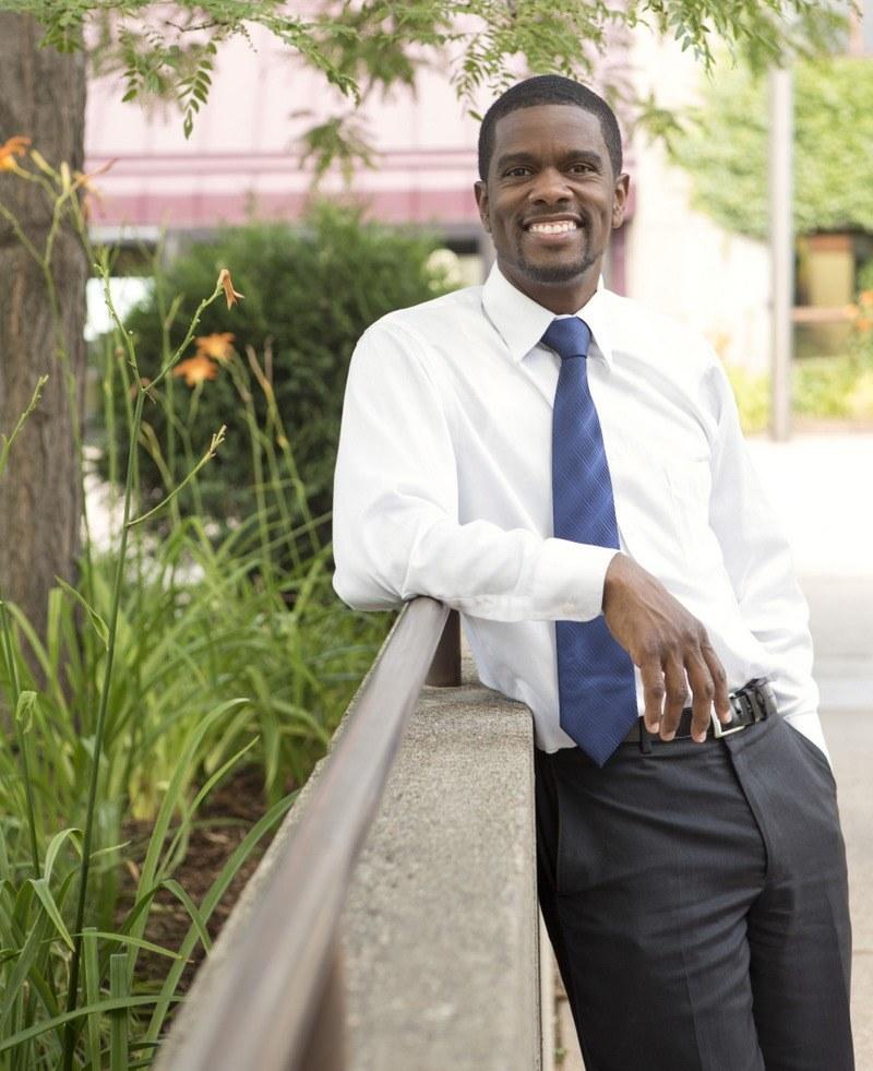 Melvin Carter, Bürgermeister der Neusser Partnerstadt Saint Paul