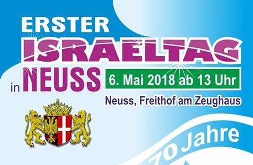 Erster Neusser Israel-Tag