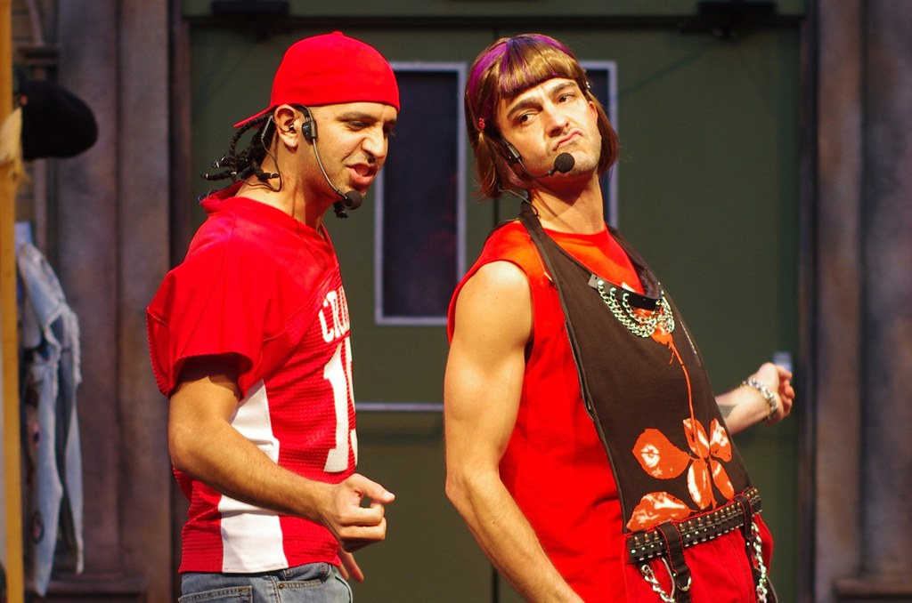 """Die Q Brothers zeigen eine Hip-Hop-Interpretation der """"Zwei Herren aus Verona"""". Foto: Q Brothers / Pete Guither, Illinois Shakespeare Festival"""