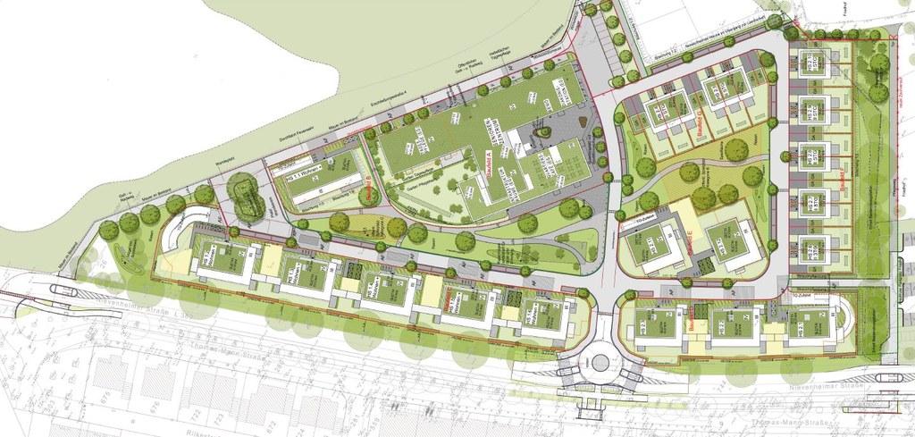 Bebauungplan Nievenheimer Straße in Norf