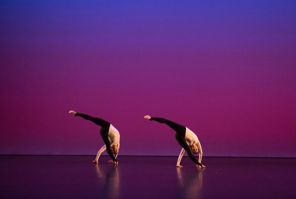 © Hugo Glendinning: Michael Clark Company / Tänzer: Kieran Page und Melissa Hetherington