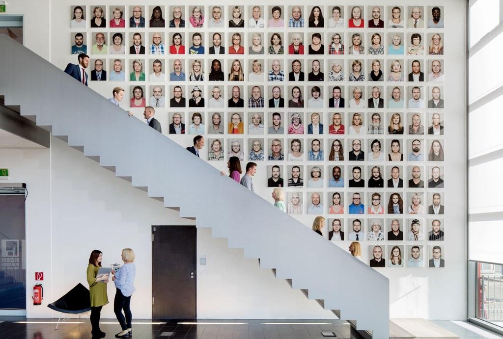 Vielfalt macht den Neusser Bauverein aus: Genau das vermittelt die Fotografie von Carsten Sander.
