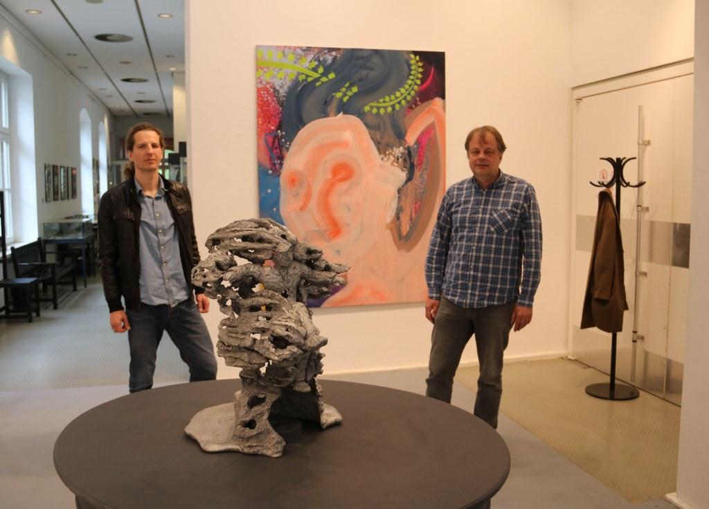 Maciej Olekszy und Ekkehart Panek stellen ihre Werke im Kulturforum Alte Post aus.