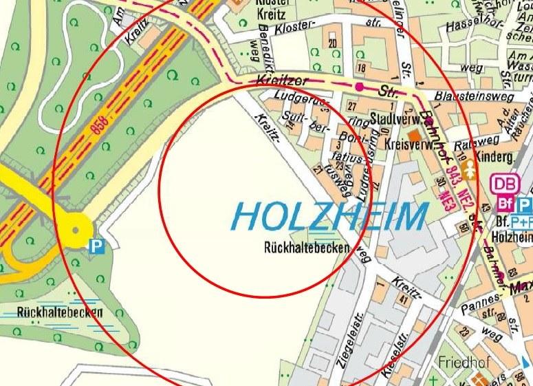 Bombenfund in Holzheim