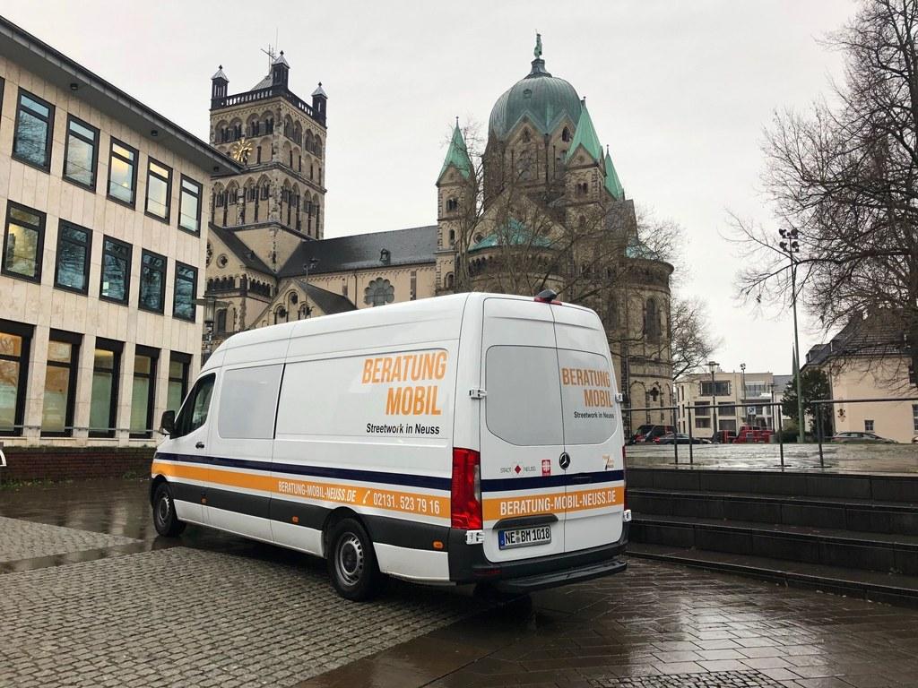 Beratungsmobil - Foto Stadt Neuss