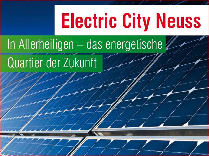 Electric City Neuss – gut besuchtes Infotreffen zur Energiewende und Forschungsprojekt