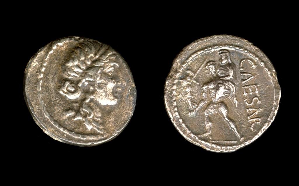 Römische Münzen aus Nordafrika