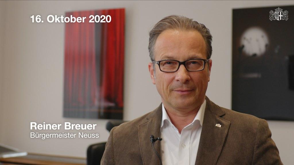 Appell von Bürgermeister Reiner Breuer