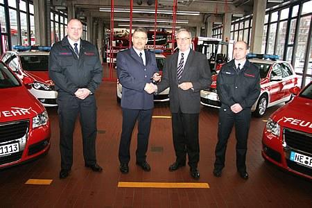 Feuerwehr erhält neue Fahrzeuge