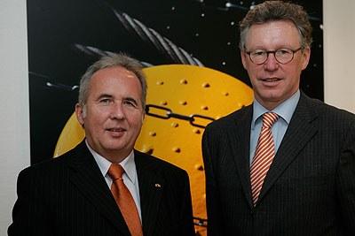Die Geschäftsführer Ulrich Gross und Rainer Schäfer sind mit dem Ergebnis in 2010 sehr zufrieden