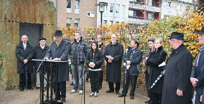 Bild zur der Gedenkstunde zum 9. November 2010: Panorama