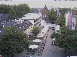 Die Stadtverwaltung stellt sich heute auf dem Markt vor