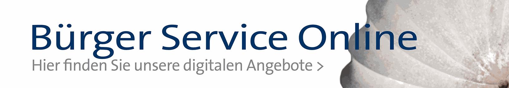 Banner: Bürger-Service Online (kleiner)