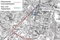 Vollsperrung Bergheimer Straße