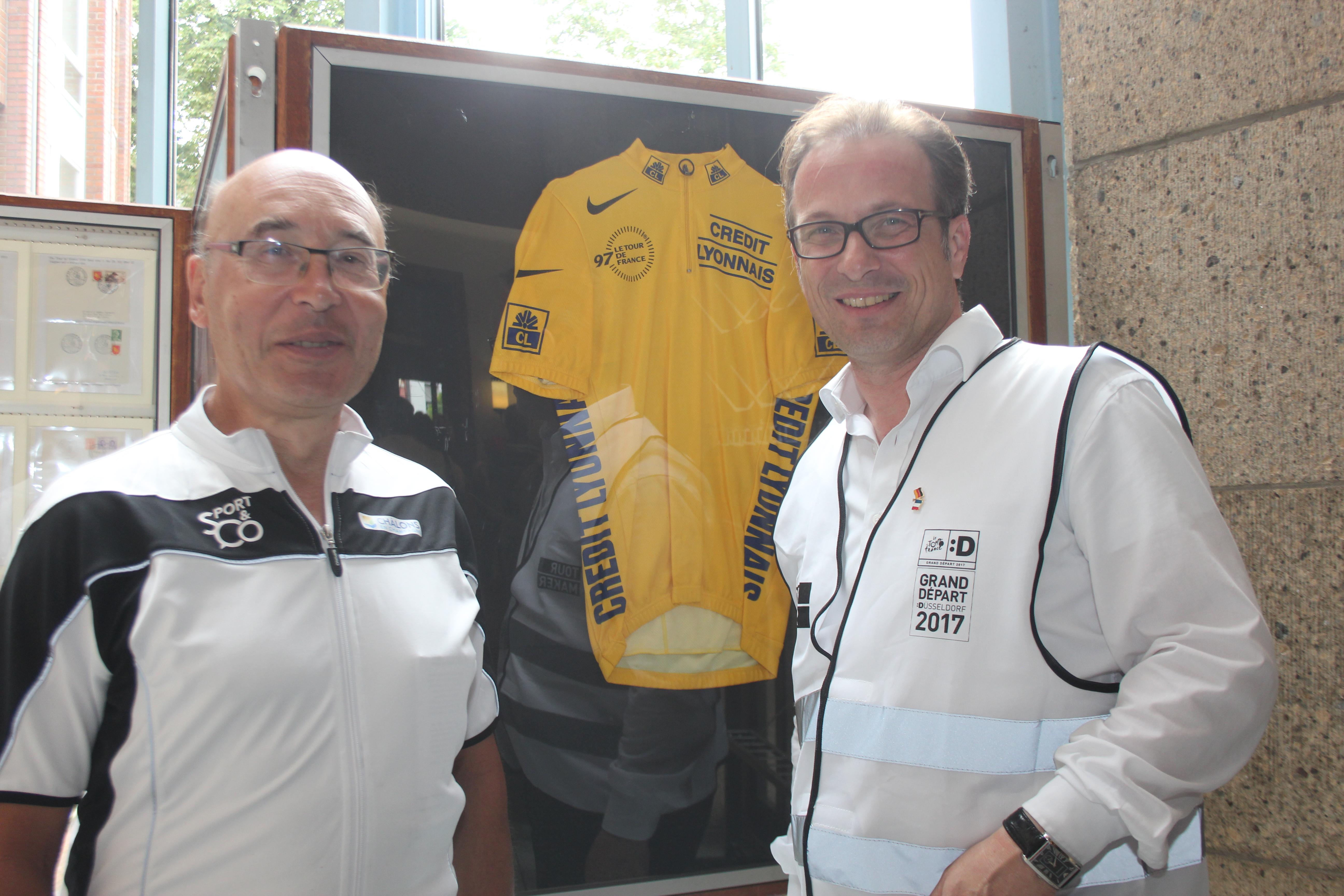 Radsportler aus Chalons in Neuss 04