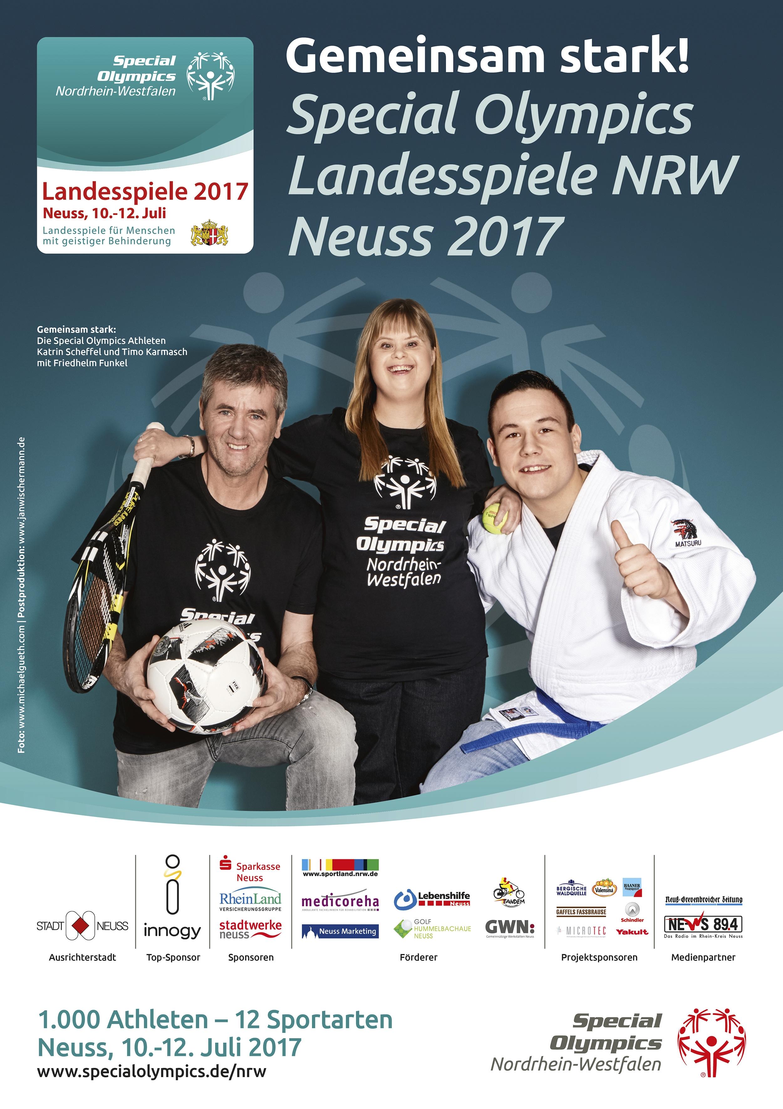 Special Olympics Plakat
