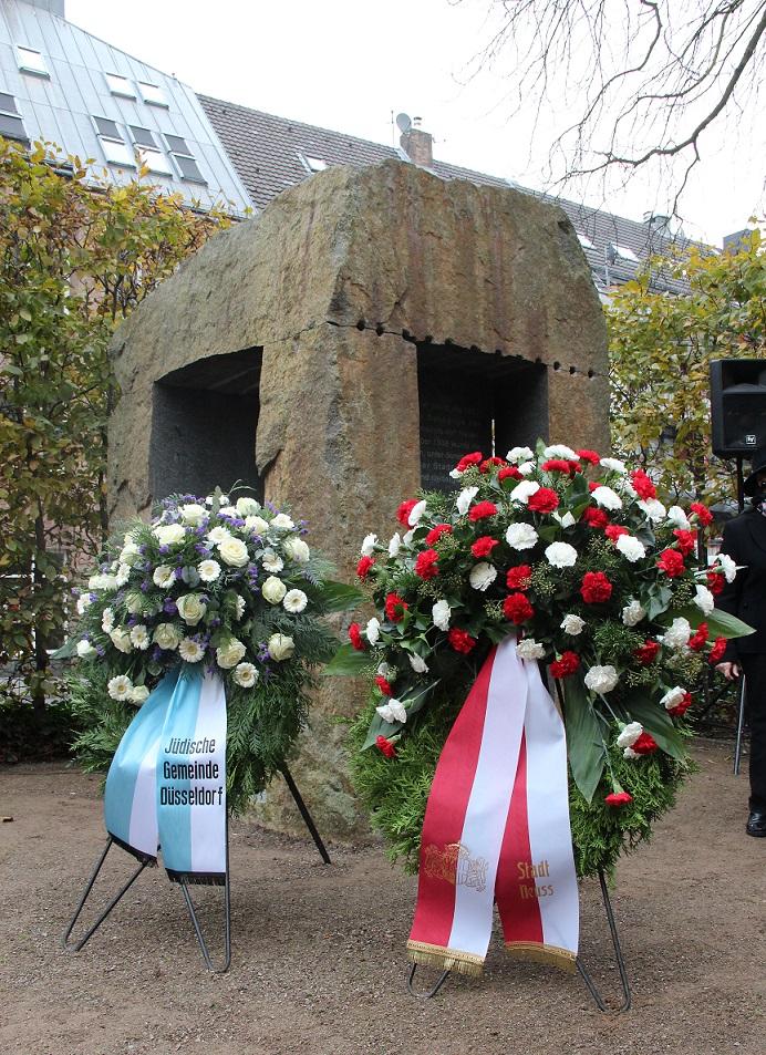 Gedenkstunde 9. November 2017 Trauerkränze