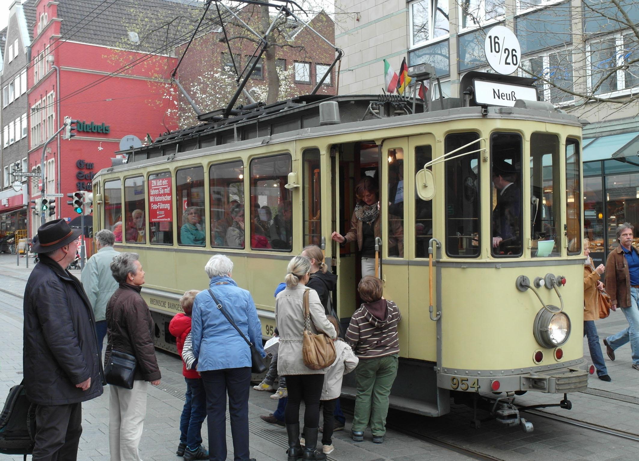 Nostalgische Bahn Neuss 2