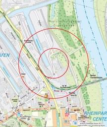 Bombe Hafen