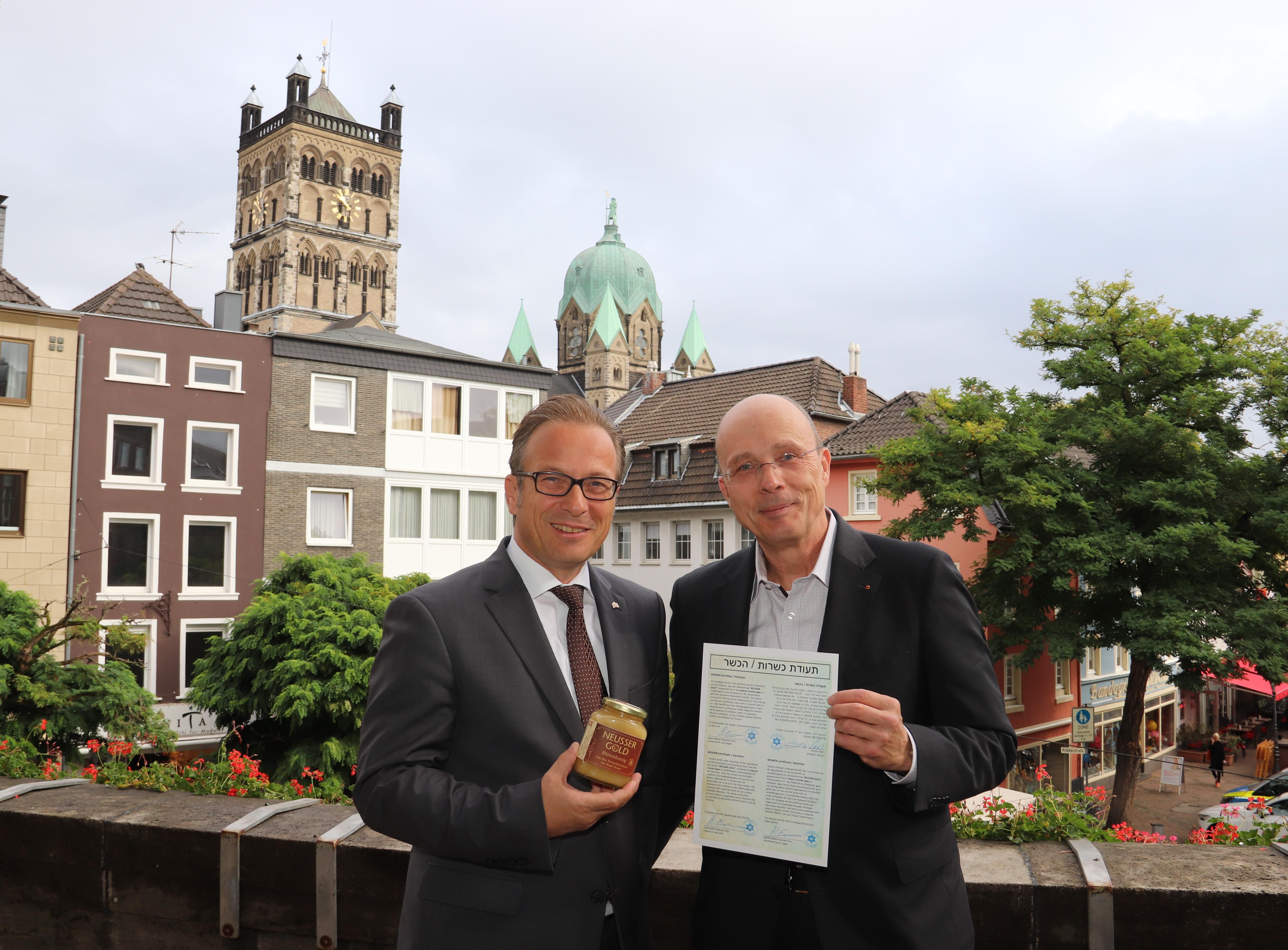 2709 NEUSSER GOLD-Honig erhält Kashrut-Zertifikat_01.jpg