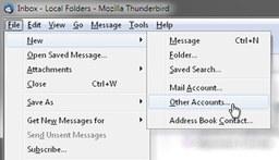 RSS-Hilfe: Thunderbird #1
