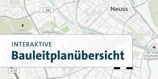 Interaktive Bauleitplanübersicht