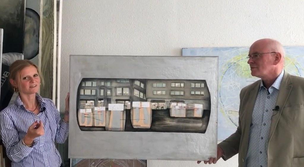 Aus den Ateliers: Alwina Heinz