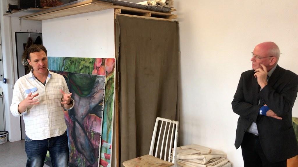 Aus den Ateliers: Ein Besuch bei Reiner Clemens