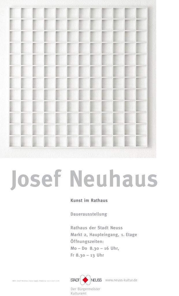 Kunst im Rathaus - Werke von Josef Neuhaus
