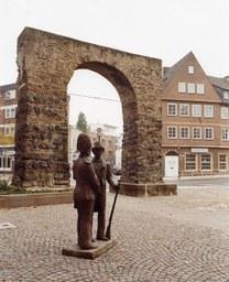 Grenadiere von Staiger, Hamtorplatz, um 1985