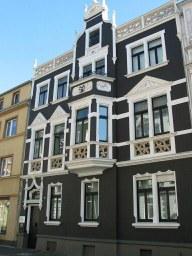 Wohnhaus auf der Kanalstraße