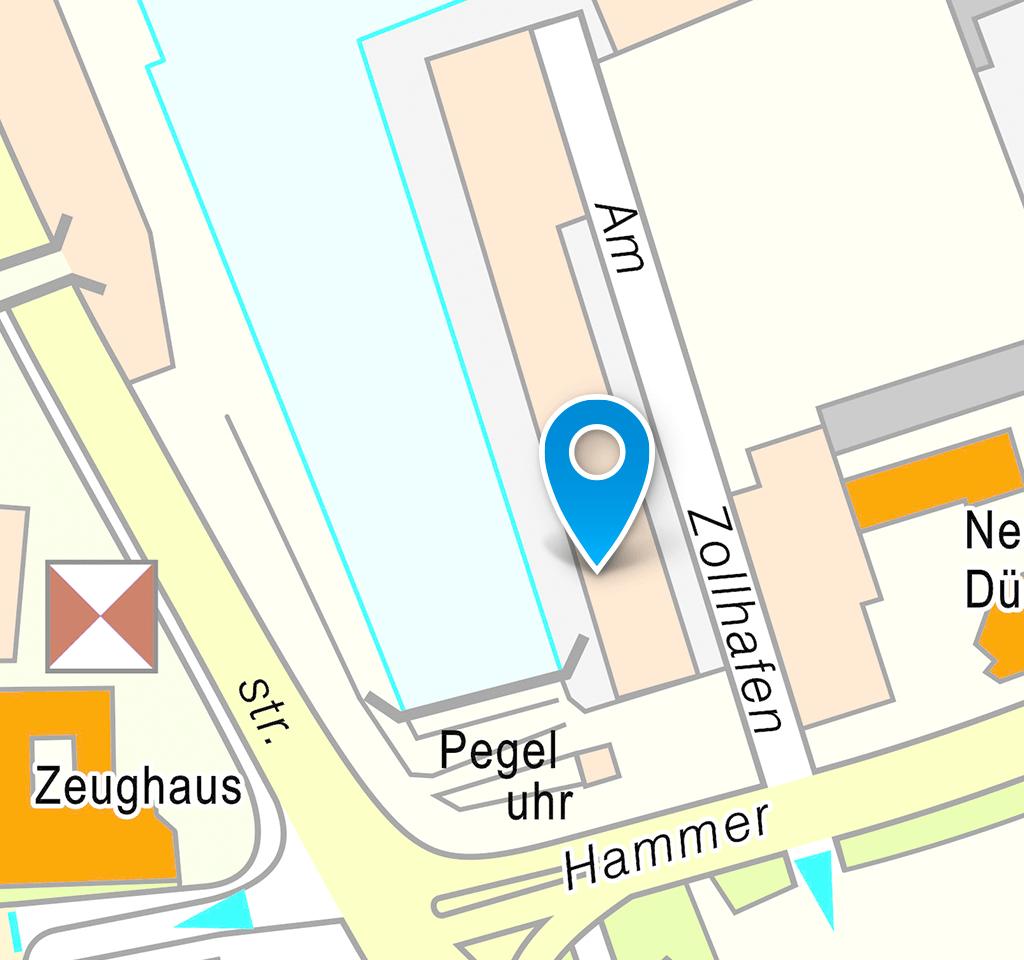 Lageplan Innenstadt