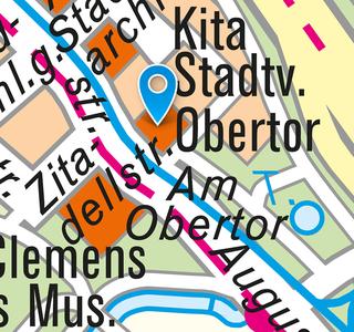 Obertorkapelle: Lageplan 2018