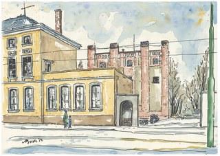 Stadtarchiv Neuss in der ehemaligen Posthalterei (1778) und Kerzenlager (1909)