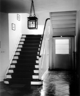 Altes Treppenhaus im Stadtarchiv