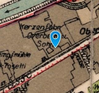Stadtarchiv: Historischer Lageplan 1925