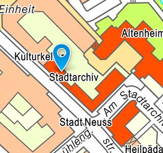 Stadtarchiv: Lageplan Innenstadt