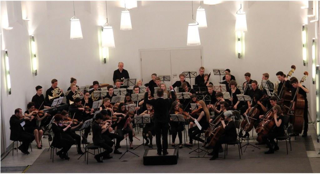 Junge Musiker meistern gewaltiges Programm