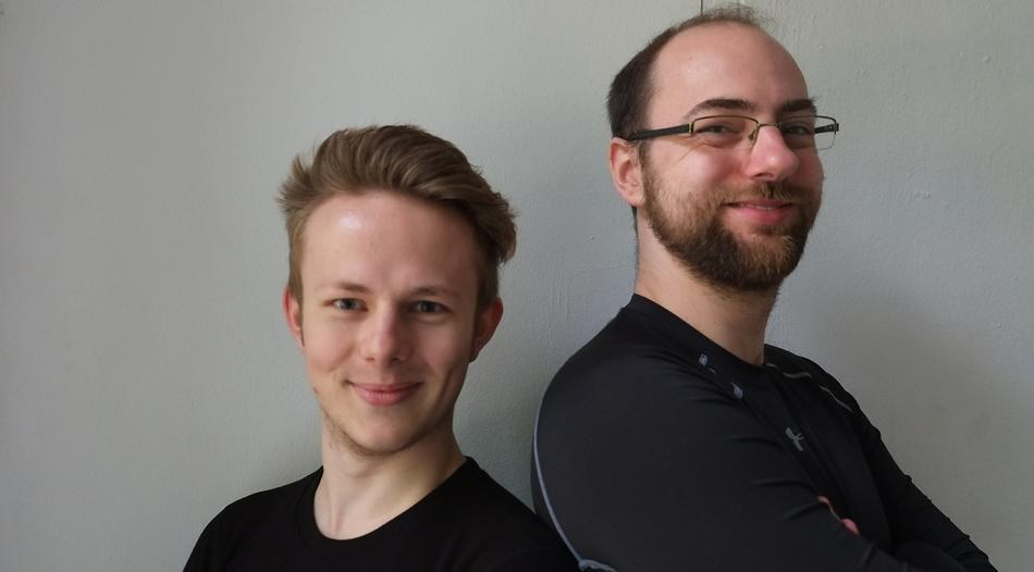Ole Glitza + Marc-Oliver Teschke  Foto: Birgit Wilms