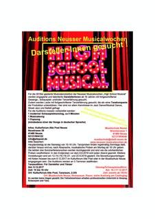 Casting High School Musical DarstellerHandzettel.jpg